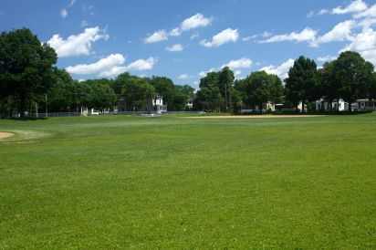 The fields at Palace Rec Center.
