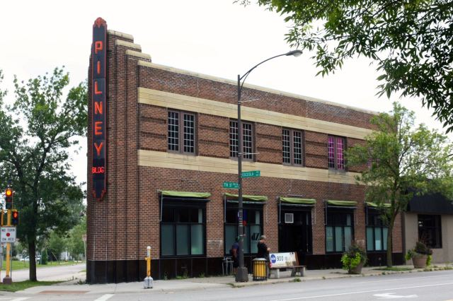 The Pilney Building at West 7th Street and Osceola has captured the interest of passersby since its construction in 1908.