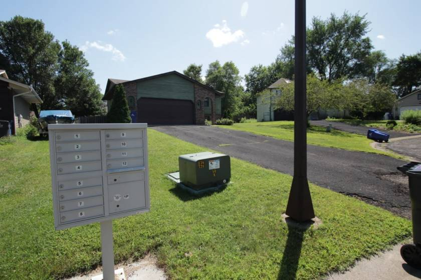 Residents of Londin Circle and Place pick up their mail from shared mailboxes the Postal Service calls cluster boxes or CBUs.