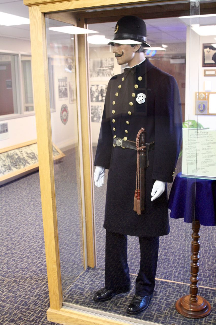 """The British-influenced """"Bobby style"""" uniform was introduced in Saint Paul in 1891, replacing the department's 1872 design."""