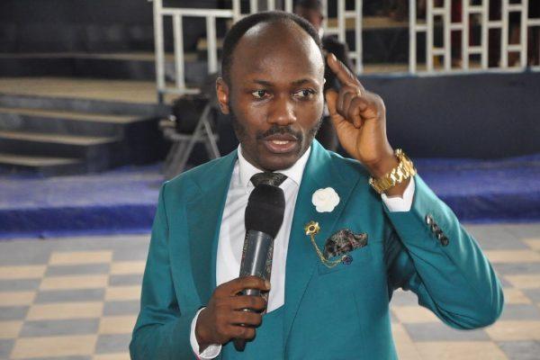 Apostle Suleman Johnson, anti-gay hate preacher from Nigeria.
