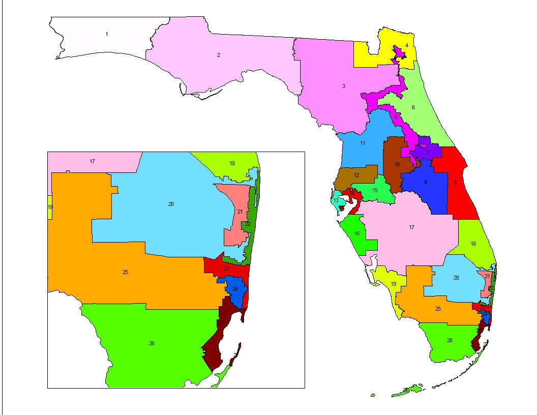 Florida Congressional Map.Florida Strong Releases Web Ad Condemning Legislature For Its Faulty