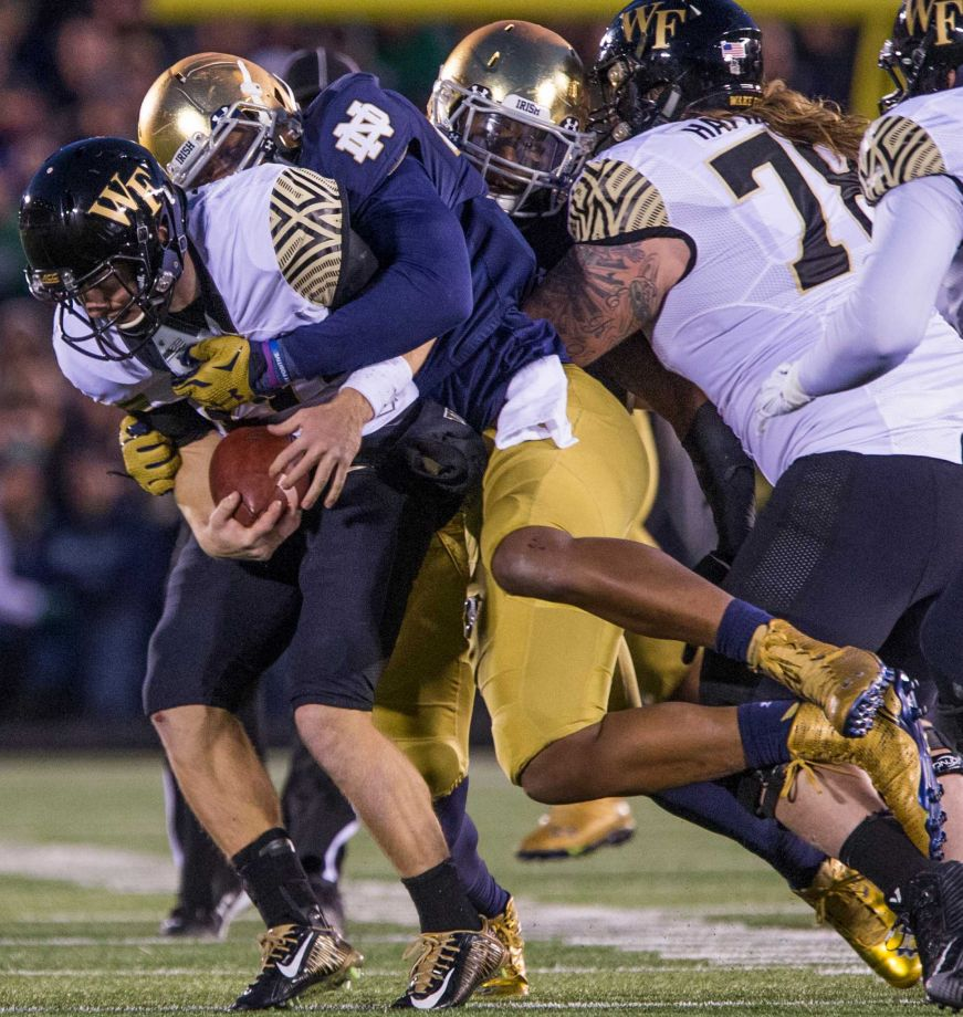 No. 56 Notre Dame Makes Itself Home At Fenway To Play BC