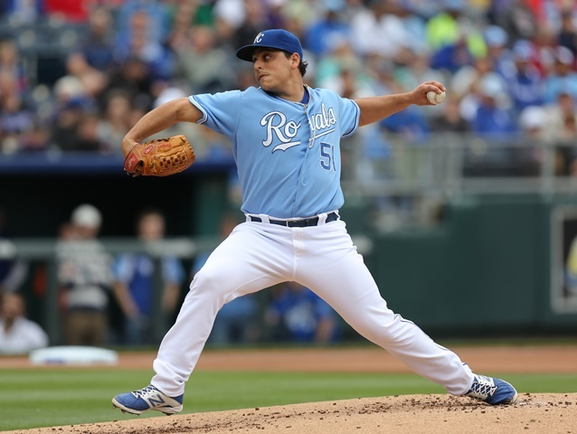KC's Vargas lowers ERA to 1.01, Royals beat Rays 6-0
