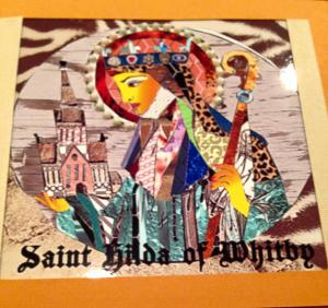 St. Hilda of Whitby by Betsy Hayes. Contact pastor pilgrim for information on this artist.