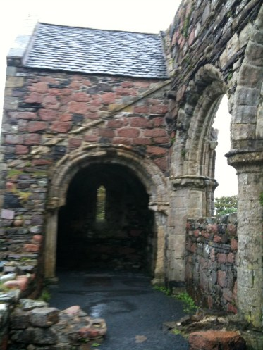 Iona Nunnery. Photo taken on my trip to Iona in Sept. 2009.