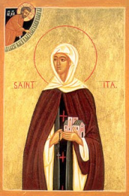 Icon of St. Ita of Ireland