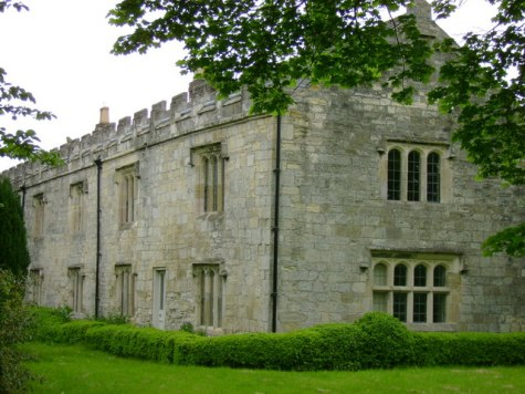 Healaugh Priory. Maybe built over the original monastery/hermitage. from geograph.org.uk