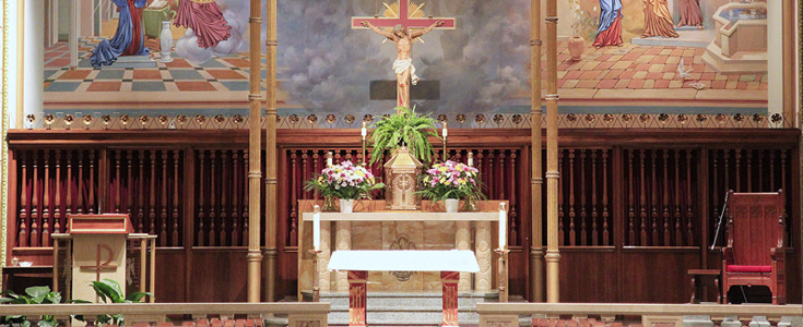 Mass & Sacrament Schedule | St  Sebastian Catholic Church
