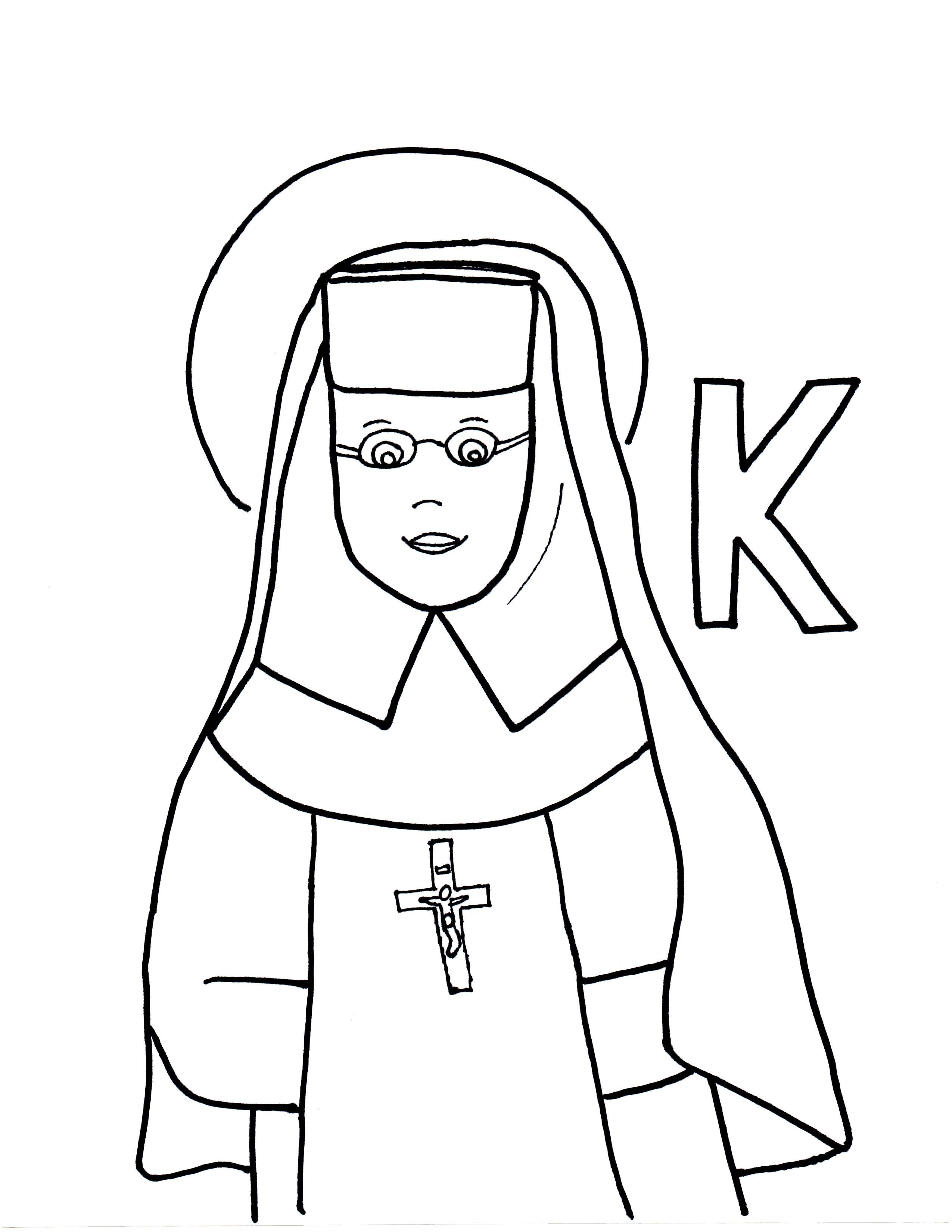 K Is For St Katharine Drexel