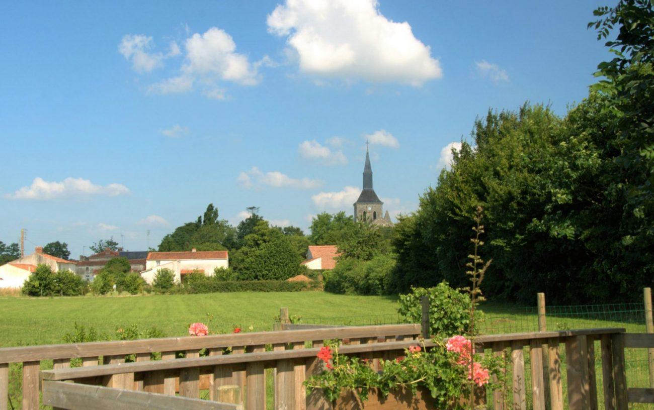 Commune de Saint Valérien en Vendée entre la Roche-sur-Yon et Fontenay-le-Comte