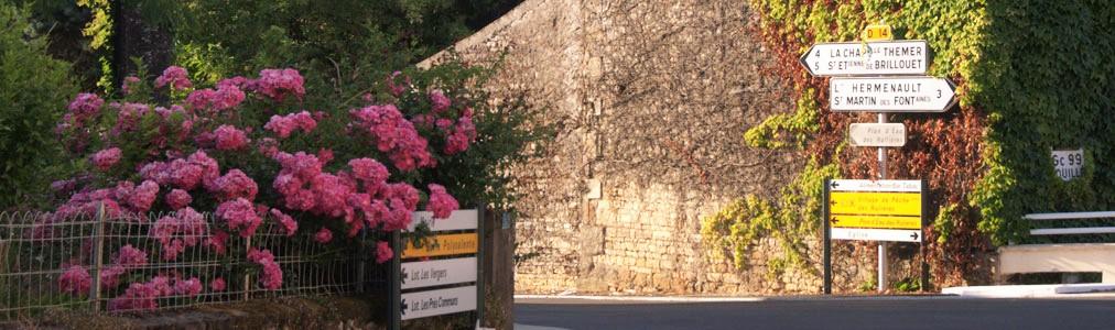 Bourg de saint Valérien en Vendée 85 entre Nantes et la Rochelle