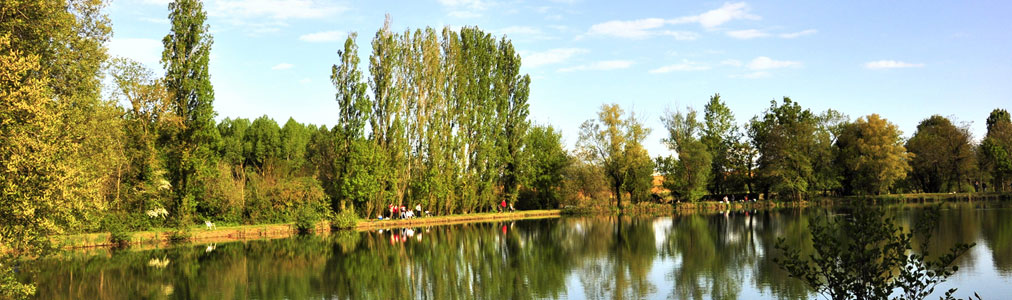 Plan d'eau les Rulières à Saint Valérien en Vendée