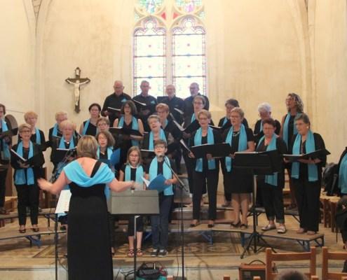Concert Harmonia à Saint Martin des Fontaines
