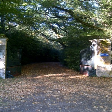 Bridle path entrance