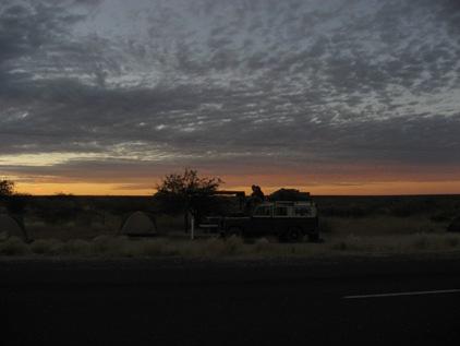 Camping na estrada