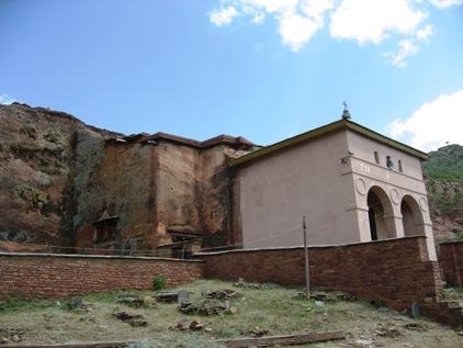 Igreja na regiao de Tigre