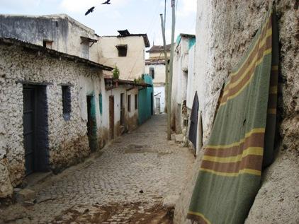 Ruas da cidade velha