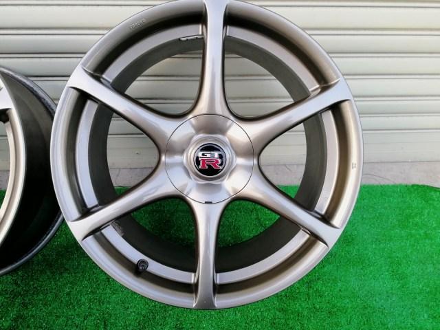 スカイライン R34 GT-R 純正色再塗装 傷補修済