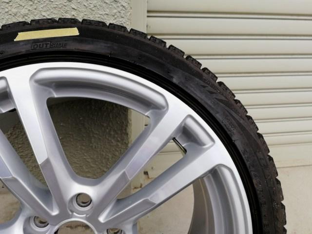 VW ダイヤモンドカットホイールガリ傷修理後