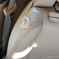 レクサス SC430 レザーシート擦れ補修 シートクリーニング&コーティング 名古屋市 施工前