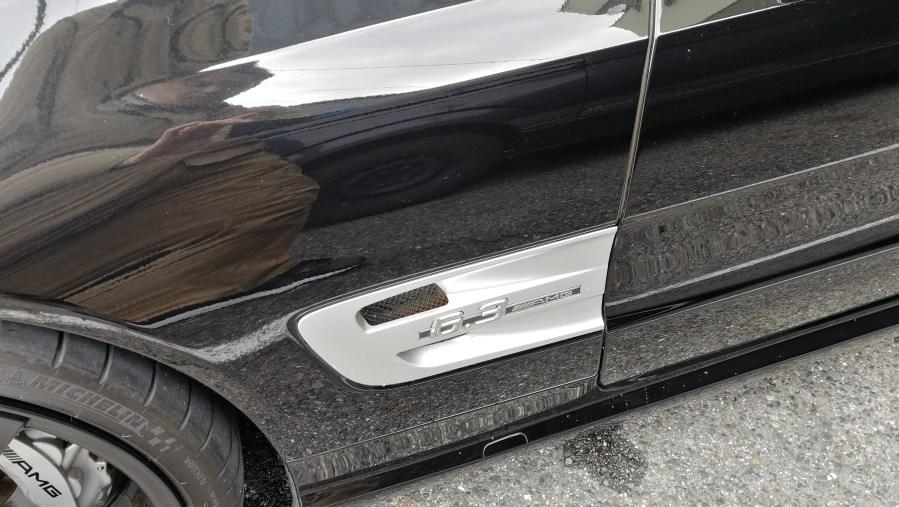 メルセデスベンツ AMG SL63 赤革シート擦れ補修 名古屋市