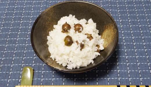 駈の精進料理~むかご飯~