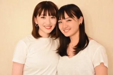 鈴木梨紗子と鈴木瑛美子の画像
