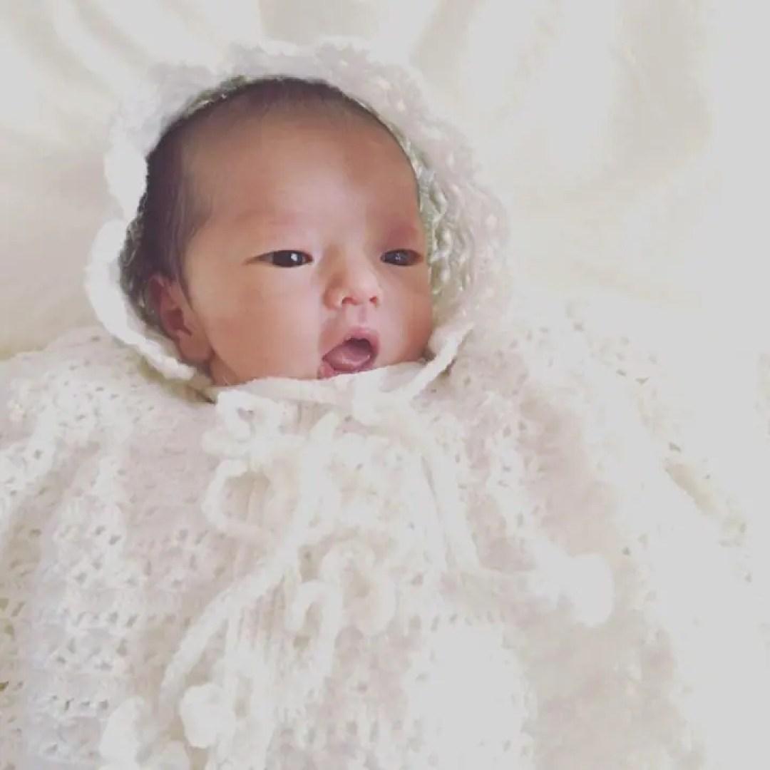 竹田麻里絵の子供の画像