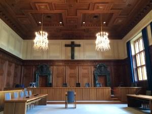The Nuremburg Court where WW2 war criminals were tried. (Alix Davie)