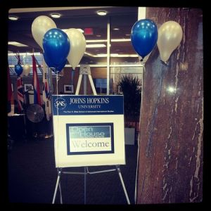 Last year, SAIS hosted the annual Open House for Admitted Students. (Erin Skelly Cameron)