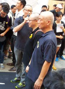 Occupy Central Leadership, Hong Kong, September 14th, 2014