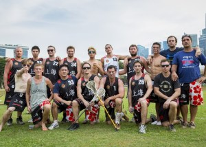 The Shanghai Lacrosse team in all their glory (Source: Barton Wheeler)