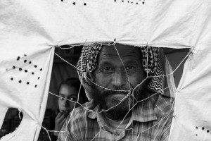 SAIS Europe student Jason Spizer's photo of Syrian refugees won this year's SAIS Perspectives photo contest. The Photo shows a father and daughter who had escaped to Kurdish-controlled territory in August 2014 (Photo Courtesy: Jason Spizer)