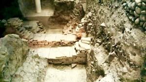 Ruins Under Sala Borsa