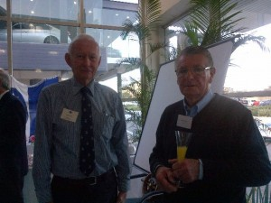 Berry Haley Chairman ISS & Peter Besnard acting chief Exec SAASOA