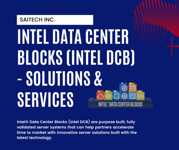 Intel Data Center Blocks (Intel DCB) – Solutions & Services