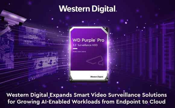 western digital video surveillance hard drives