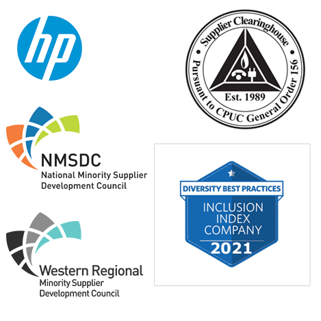 Saitech Inc is now approved within HP Inc Diversity Partner Network