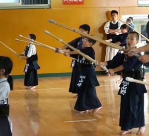 齋藤道場剣友会の4人衆も頑張ってます
