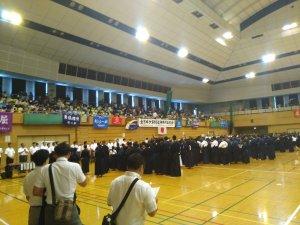 県道場少年剣道大会開会式