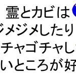 霊とカビはジメジメしたりゴチャゴチャした汚いところが好き斎藤一人|仕事がうまくいく315のチカラ328