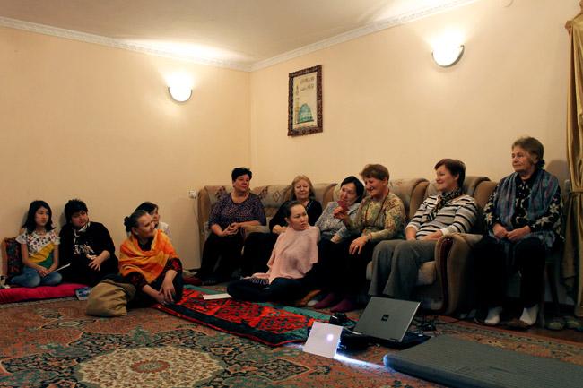 Public Meeting in Astana, Kazakhstan