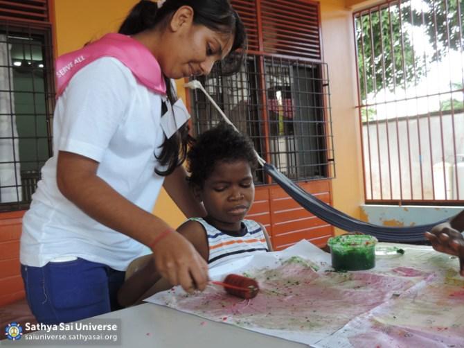 Suriname STP - Serving disabled child