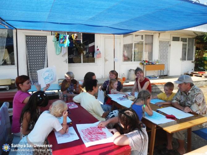 Children's Workshop at Family Camp