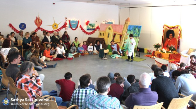 Cultural programme by Sathya Sai devotees in Germany