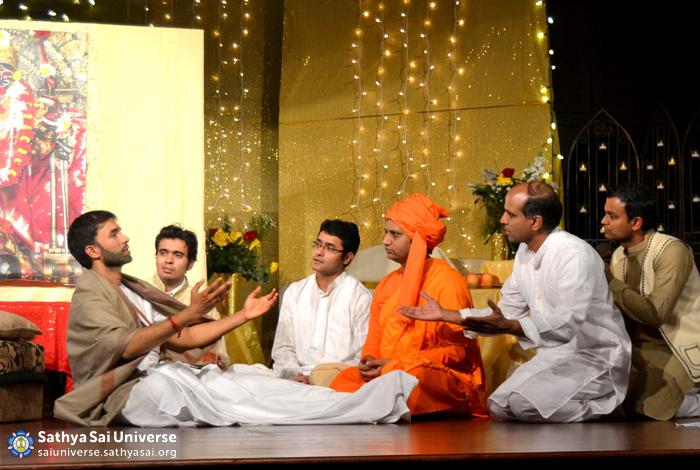 Play about Saint Ramakrishna at Austin