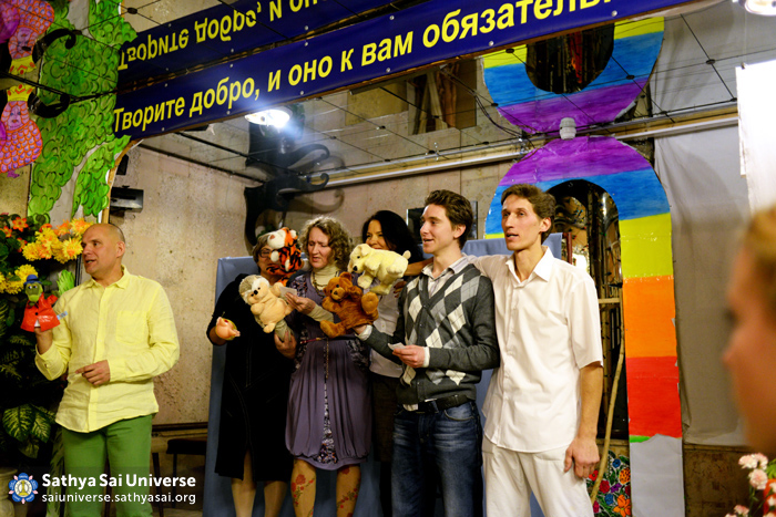 Puppet show in Saratov