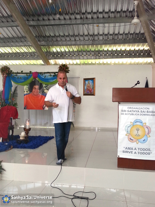 Speaker at national retreat