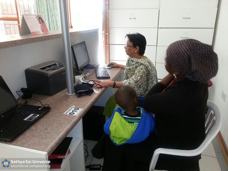 Botswana Electronic records for patients